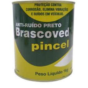 Massa Anti-ruído - Brascoved Pincel - Preto - Cada (unidade)