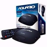 Conversor Gravador De Tv Digital Aquário + Hdmi Dvt-5000