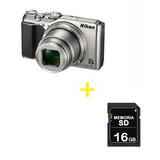 Cámara Coolpix A900 Plateada / Video 4 K + Memoria Sd 16 Gb