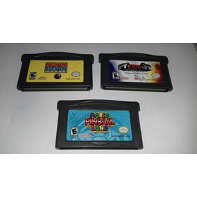 Lote Juegos Gba,mario Pinball Land,spy Kids 3d Y Rock