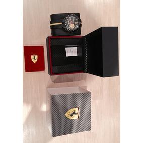 Relógio Ferrari Original Luxo E Esportivo Lindo