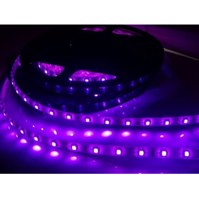 1 Metro Led Luz Negra Halloween Led Uv Fiesta Neon Violeta