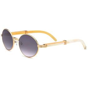 Óculos Hepidem Buffalo Horn Handmade Sun - 277639 2e002691f6