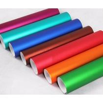 Vinyl Colores Cromo Mate Ice 1m X 1.52m Di Noc Carbono Vinil