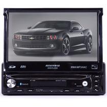 Dvd Retrátil Águia Power Tv,gps,bluetooth,câmera De Ré.touch