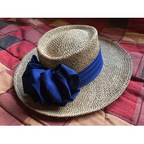 Sombrero Hatlanta De Paja Con Moño Talle L Made In U.s.a. 731fd543ccd