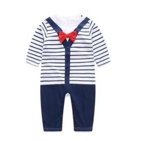 Mameluco Sweter Para Bebe Celeste Y Azul