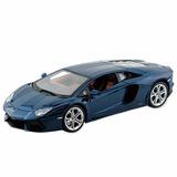 Auto Maisto 1:24 Lamborghini Aventador Lp 700-4 Negro Pc