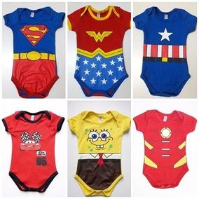 Body Infantil Super Homem P/ M/ G.