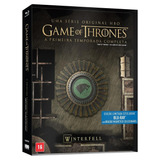 Blu-ray Game Of Thrones - Primeira Temporada (5 Bds + Brasã