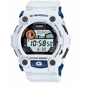 Relogio Casio G-shock G7900-7dr Esportivo Fases Da Lua Marés