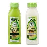Shampoo + Acodicionador Garnier Fructis Hair Food Aguacate