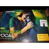 Microfono Inalambrico Shure Beta 58a Blx Nuevo Original