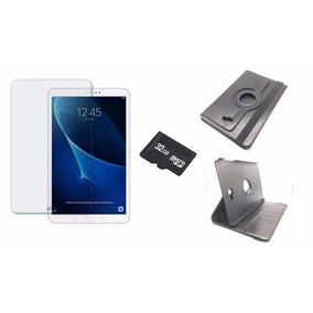 Tablet Samsung Tab A 10.1 16gb Cartão 32gb Película Capa
