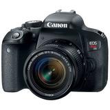 Canon Cámara Digital Profesional Eos Rebel T7i Kit Con Lente