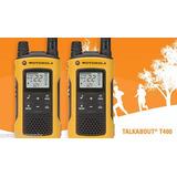 Radio Comunicador Talkabout 35km T400mc Pronta Entrega