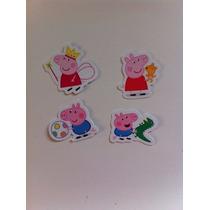 Toppers Peppa Pig E George Pig 100 Un. (frete Grátis)