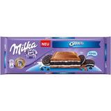 Chocolate Barra Milka Oreo 300g Importado Áustria - Presente