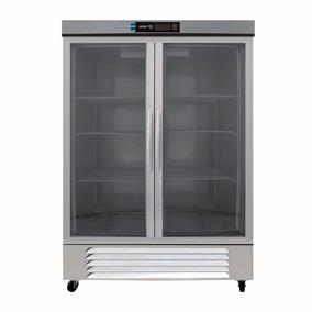 Asber Arr-37-2g-bl Refrigerador 2 Puertas Cristal Xxref