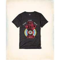 Remeras Hollister By Abercrombie And Fitch The Who