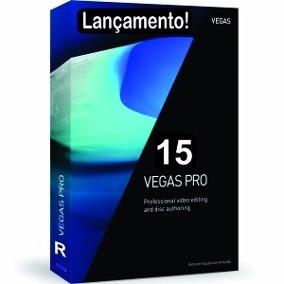 Sony Vegas Pro 15 Envio Na Hora + Tradução