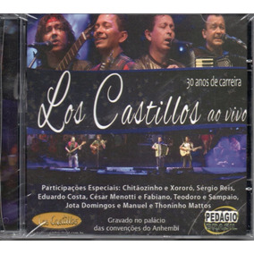 Cd Los Castillos - 30 Anos De Carreira Ao Vivo