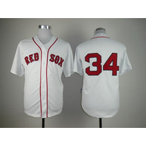 Jersey Camisola Beisbol Red Sox