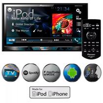Dvd Pioneer 2din Avh-x5880tv Android Mixtrax Rca Tela 7