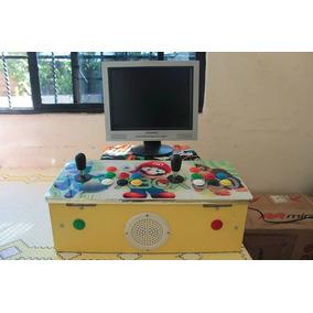 Consola De Video Juegos Neo Geo Y Mas Con Monitor Incluido