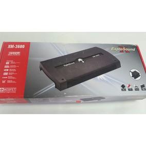 Modulo Amplificador Explo Sound Xm 3600