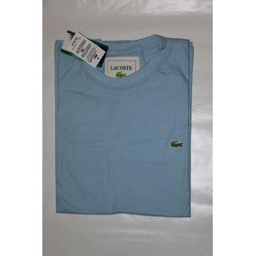 Blusa Camiseta Lacoste Lisa Masculina G/ Redonda Promoção