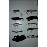 Señuelos De Pesca Daiwa, Storm,rapala, Halco, Pavon Usados
