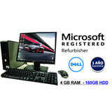 Computadora Intel Core2duo 4gb-250gb- Monitor 19¨ Lcd