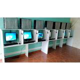 Cybers 10 Computadoras+mesas+impresora Tinta+camara+instalac