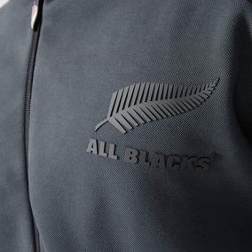 Campera De Rugby Anthem adidas Z.n.e All Blacks