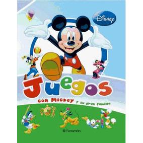 Crea Tu-- Juegos Con Mickey Y Su Gran Familia(libro Infantil