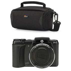 Camara Digital Hp P650 14mpx Zoom 24x Hd720p Con Funda Y Sd