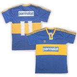 Camiseta Retro Boca Juniors Campeon 1992 #11 Tapia Parmalat