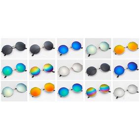 Oculos Redondo De Metal - Óculos De Sol Com lente polarizada no ... 1924fed81f