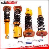 Coilovers Spring Struts Para 86-91 Mazda Savanna Rx7 S4 S5