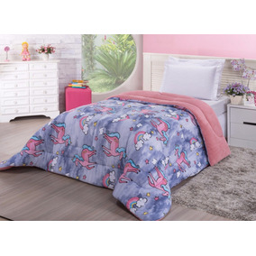 399b3b5055 Cobertor Solteiro Barato Edredom - Roupa de Cama no Mercado Livre Brasil