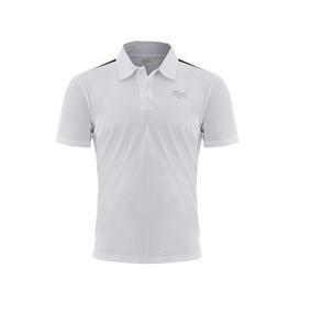 4bd99c20d1 Camisa Polo Everlast Original Dry Branco 24912236