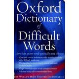 English Dictionary || Diccionario De Dificultades Inglés