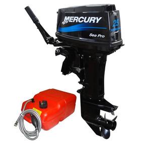 Motor De Popa Mercury 25 Sea Pro (30 Hp) 2t - 0 Km
