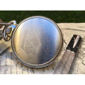 Reloj De Bolsillo Ferrocarilero Reglamentario Elgin Cuerda