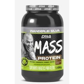 Mass Prótein Edition Wanderlei Silva 1,45kg Dna Suplemento