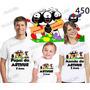 Kit Camiseta Smilinguido Lembrança De Aniversario Evangelico