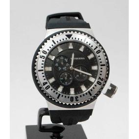 4390cd87516 Relógio Victor Hugo Masculino Vh10094gss Pulseira Borracha. R  1.159