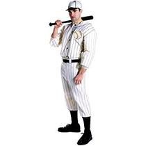 Disfraz Uniforme Rasta Imposta Old Tyme Jugador De Béisbol