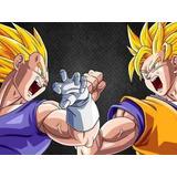Painel Decorativo Festa Dragon Ball Z Goku [2x1,5m] (mod2)